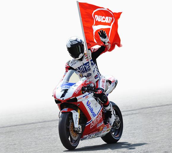 Carlos Checa campeón del mundial SBK superbikes 2011